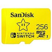 SanDisk SDSQXAO-256G-GNCZN MicroSDXC UHS-I Card for Nintendo Switch 256GB