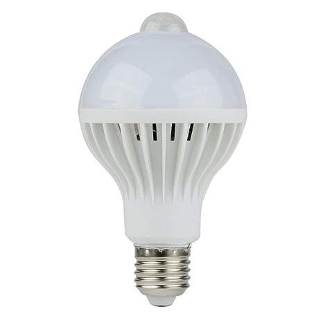 PIR - Bombilla LED con sensor de movimiento (5 W, 7 W, 9