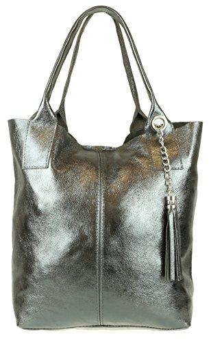 Hombro Mujer De Handbags Material Bolso Gris Sintético Al Girly Para HB6qn