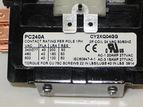 packard-c240a-packard-contactor-2-pole-40-amps-24-coil-voltage