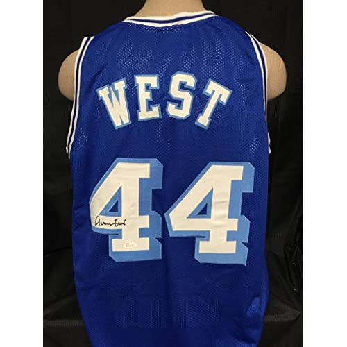 11c8af04c 70%OFF JERRY WEST SIGNED THROWBACK JERSEY JSA WITNESSED COA LOS ANGELES LAKERS  AUTOGRAPH