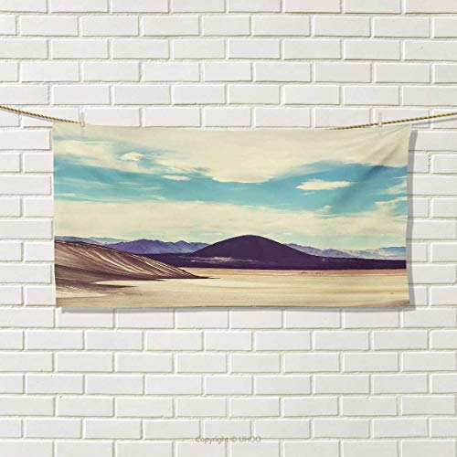Chaneyhouse Landscape,Travel Towel,Photograph Northern Brazilian Plateau Wanderlust Serene in Abandoned Rocks Paint,100% Microfiber,Multicolor Size: W 12'' x L 27.5'' by Chaneyhouse