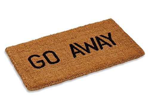 - Kempf Go Away Doormat, 16 by 27 by 1-Inch
