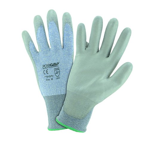 PU COATED 18 GAUGE HPPE GLOVES 12 PAIR PER CASE