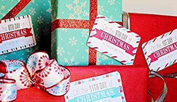 12 Days Of Christmas Gifts.My True Love Gave To Me 12 Days Of Christmas Count Down Gift For Your Sweetheart Gifts Included For