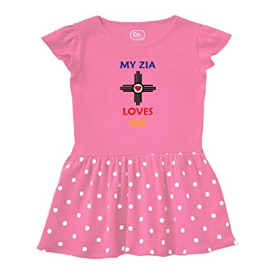 8168b498a1d Amazon.com: My Zia Loves Me Aunt Short Sleeve Taped Neck Girl Cotton ...