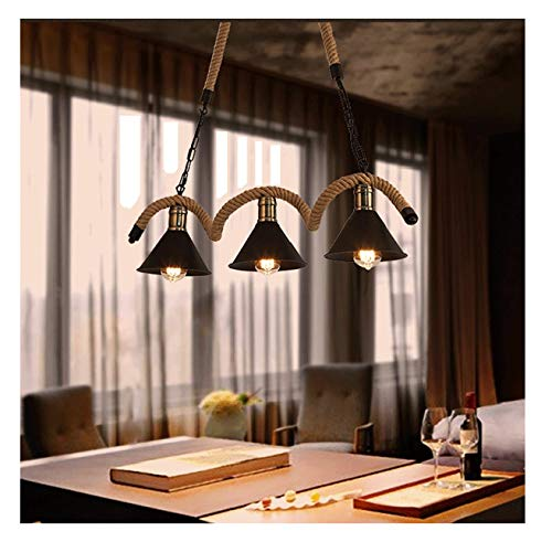 - Industrial Vintage Ceiling Pendant Light Metal Hanging lighting Fixtures, E26x3