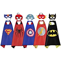 RioRand Comics Cartoon Dress Up Costumes 5 Satin Capes...