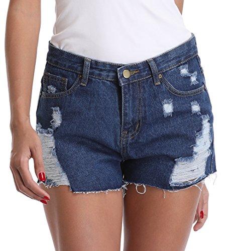Slant Pockets Jeans - 3