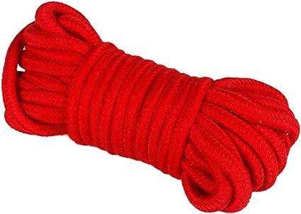 Heallily Cuerda de sujeción de 5 m vendaje de algodón suave cuerda ...