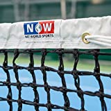 Vermont 3.5mm Double Top Tennis Net (22lbs) | Championship Tennis Net | Braided HDPE Twine | ITF Tournament Regulation | Professional Quality | 42ft Doubles Regulation