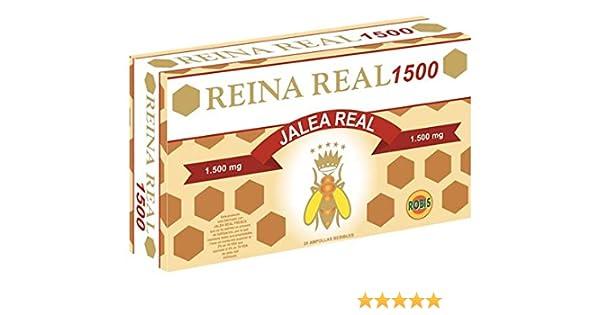 Robis Reina Real 1500-20 Ampollas: Amazon.es: Salud y cuidado personal