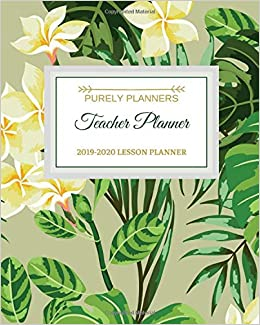 Amazon.com: Teacher Planner: 2019 - 2020 Weekly Lesson Plan ...