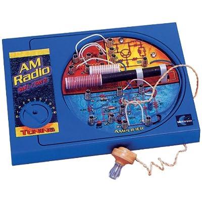 Maxitronix Short Wave Radio Kit: Toys & Games