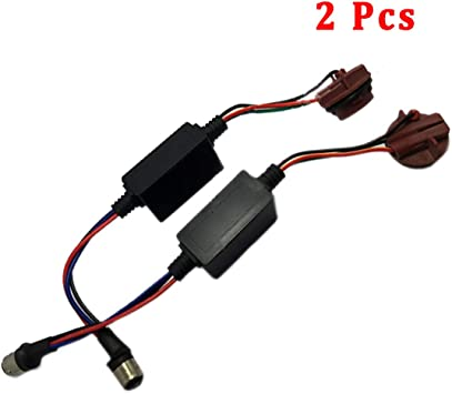 2X 1157 2357 LED Decoder Adaptor Warning Canbus Error Free Canceller Anti Hyper
