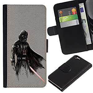 UNIQCASE - Apple Iphone 6 4.7 - Darth Superhero - Cuero PU Delgado caso cubierta Shell Armor Funda Case Cover