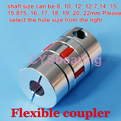 NEW 1Pc 8x20mm Motor Jaw Shaft Coupler Flexible Coupling CNC