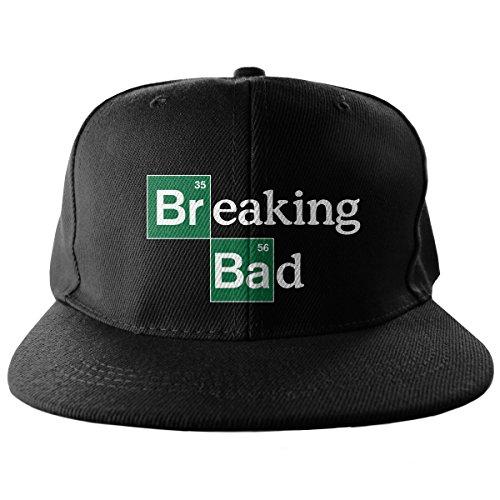 Bordado Snapback Mercancía Breaking Negro Tamaño Gorra Bad Ajustable Logo Con Licencia Oficial 4zgYz