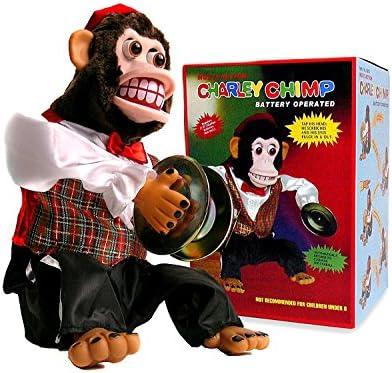 Amazon Charley Chimp Cymbal Playing Monkey Toys Games
