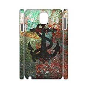 Sailor Anchor Personalized 3D Cover Case for Samsung Galaxy Note 3 N9000,customized phone case ygtg575451