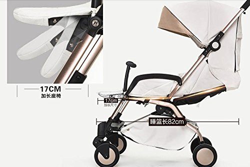 luxury baby stroller 3 in 1 ,cochecitos de bebe 3 en 1,360 landscape baby stroller,travel stroller,umbrella fold pushchair by vory (Image #5)