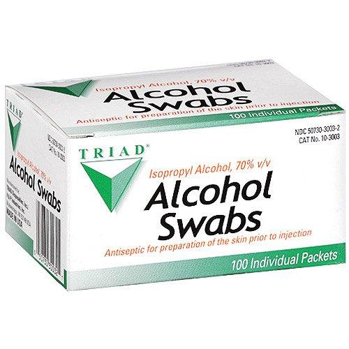 Triad Alcohol (Triad Alcohol Swabs, 100ct)
