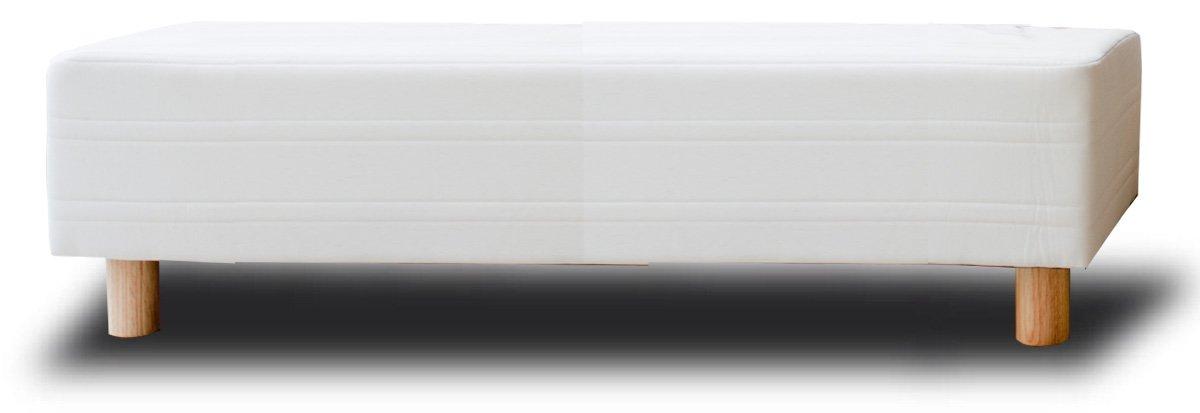 イーユニット ベッド屋さんが作った ベンチソファ スツール 日本製 (サイズ:ダブル幅140cm カラー:ライトブラウン) B00CR9VYKC ダブル幅140cm ライトブラウン ライトブラウン ダブル幅140cm