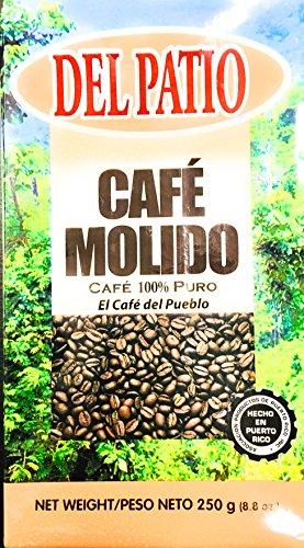 Del Patio Cafe Molido (Ground Coffee) 8.8 Ounces