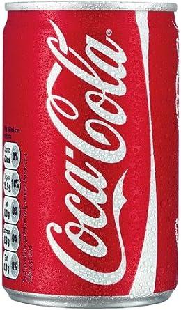 Coca-Cola Coke 150ml Mini Can - 24 Pack: Amazon.es: Alimentación y bebidas