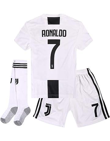 4f76e5395f7 Juventus Home Kids Youth 2018-2019 Season.  7 Ronaldo Socce Jersey Matching