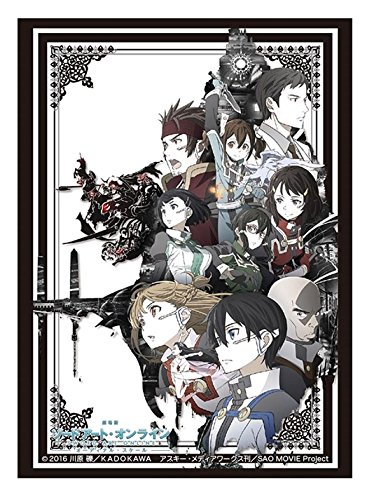 Sword Art Online SAO Movie Trading Anime Card Game Character Sleeves Protector from Bushiroad