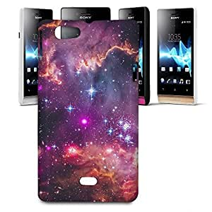 Phone Case For Sony Xperia Miro - Fairytale Galaxy Glossy Designer