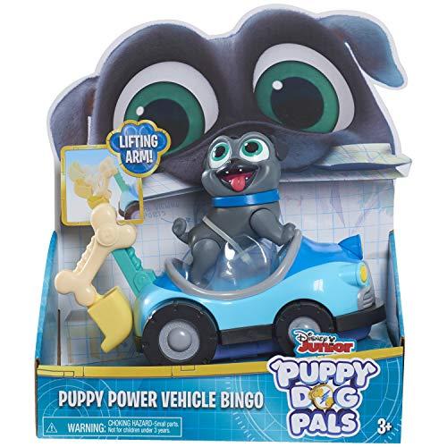 - Puppy Dog Pals Bingo with Power Vehicle, Multicolor