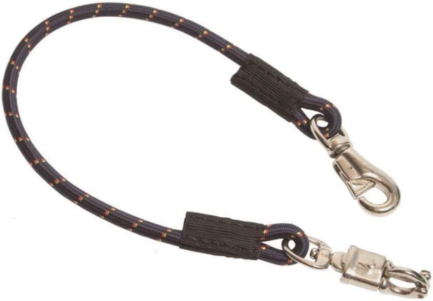 Reitsport Amesbichler HorseGuard - Brida elástica para Remolque de Caballo, 135 cm, con Gancho de pánico y Bucle para Remolque de Caballo, 1 Unidad, Color Azul Oscuro
