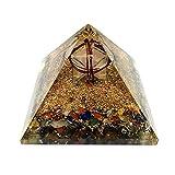 Gaia's Treasure Merkab Orgone Merkaba Pyramid Orgonite Spiritual Reiki Chakra Energy Healing Crystal 2.5-2.7 inches
