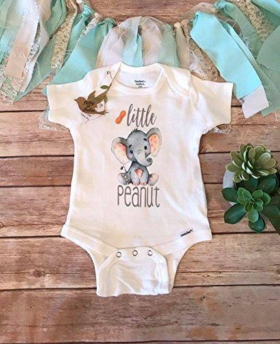 Amazon Com Little Peanut Onesie Unisex Baby Clothes Elephant