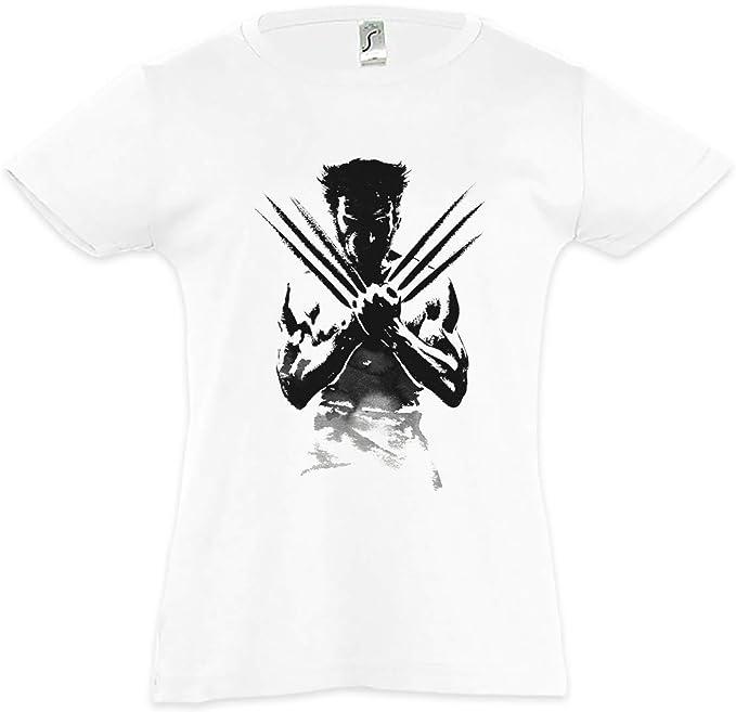 Wolverine Shadow Warrior Camiseta para Niñas Chicas niños T-Shirt WEG Des X-Men Kriegers Hugh Logan Jackman: Amazon.es: Ropa y accesorios
