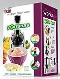 Yonanas 901 Deluxe Ice Cream Treat Maker Bundle, Silver [Discontinued]