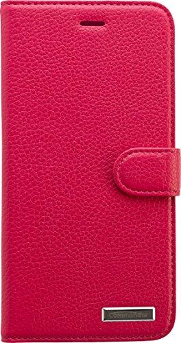 Commander Book Case Elite Leder für Apple iPhone 6 Plus pink