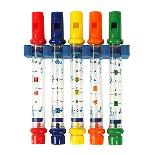 OFKPO 5pcs Colorido Agua Silbando Tinas de Bañera