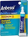 Anbesol Cold Sore Therapy Ointment 0.33 oz (Pack of 6)