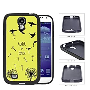 Wild And Free Flying Birds Rubber Silicone TPU Cell Phone Case Samsung Galaxy S4 SIV I9500