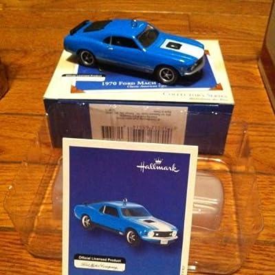 Hallmark 1970 Ford Mach I Mustang Ornament