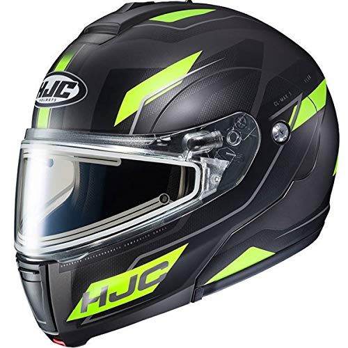 (HJC Flow CL-Max 3 Men's Snowmobile Helmet With Electric Shield - MC-3HSF / Large )