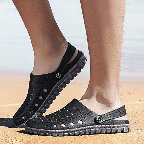 Libre Vadeo Al Zapatos Aire Playa De ALIKEEYAgujero Caminar Casual Hombres Negro Zapatos Sandalia Playa Zapatilla Zapatos De dwSCxEE0q