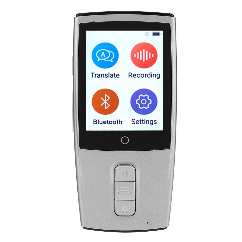 Ciglow Smart Translator, Pocket Mini WiFi Wireless Real Time Voice Translator Muti-Language Support 2-Way Translator(White)