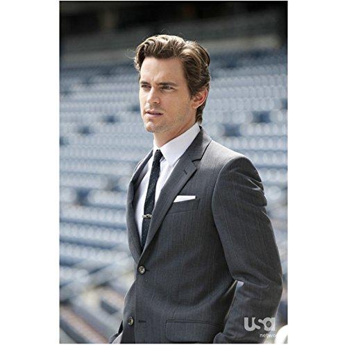 White Collar Matt Bomer as Neal Caffrey Standing in Stadium 8 x 10 inch - Aviators Stadium