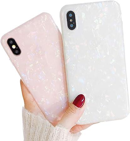 Llz Coque 2 Pack Hülle Für Iphone Xs Max Case Muschel Elektronik