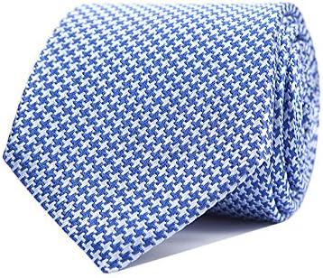 SoloGemelos - Corbata Pata De Gallo - Azul Marino - Hombres ...