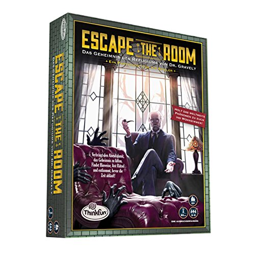 Thinkfun 7352-GER - Escape the Room 13+ Familien Strategiespiel
